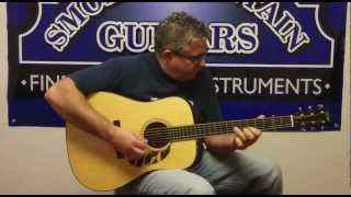 "Kenny Smith Plays ""Red Apple Rag"" on a Collings CW Mahogany"