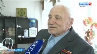 В Барнауле поздравили постояльцев  дома-интерната для ветеранов войны и труда