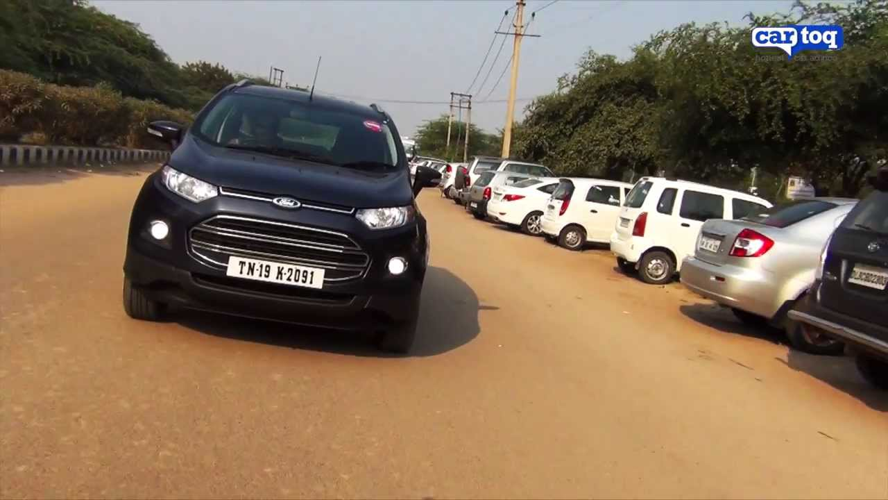 Ford ecosport 1 5 tdci titanium diesel video review by cartoq com youtube