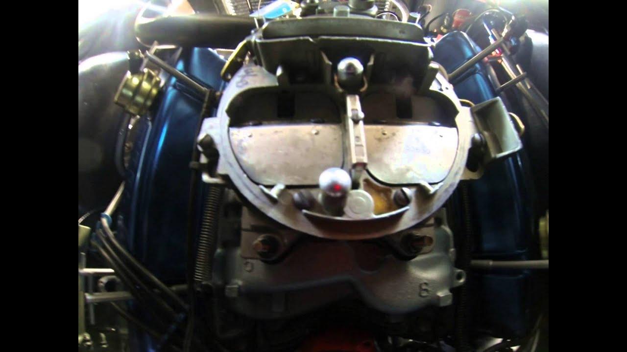 Ram Air Carb : Quadrajet carb in action ram air doovi