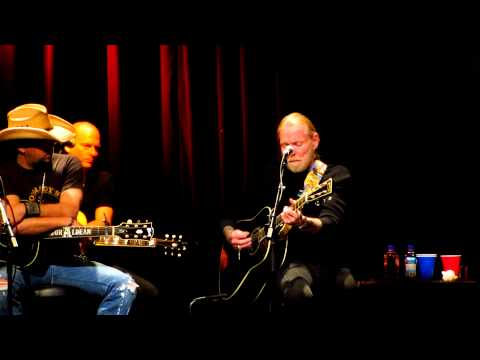 "Greg Allman singing the classic ""Sweet Melissa"""