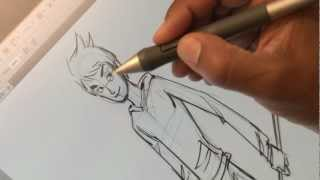 Rise of the Guardians - Drawing Tutorial - Jack Frost