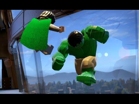 LEGO Marvel's Avenger: Hulk vs Loki Battle/Fight - YouTube