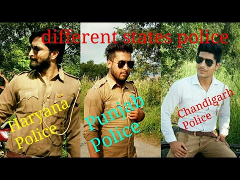 Different State Police Haryana Punjab Chandigarh Ft. Yogi Badona