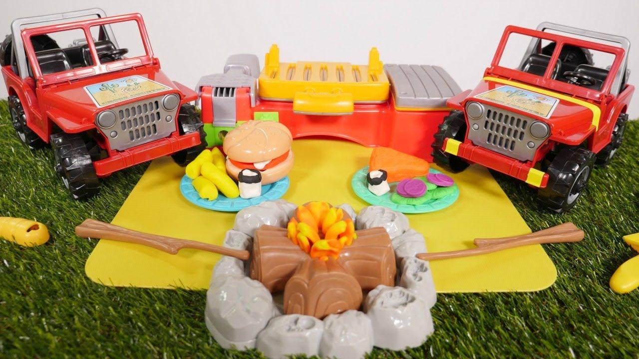 Hamburguesas de play doh cocina de juguete v deo de juguetes youtube - Cocina play doh ...