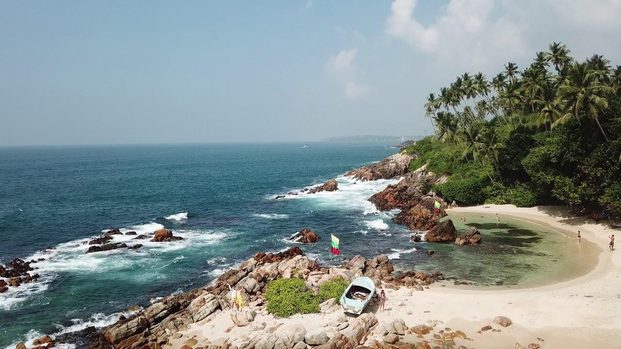 Secret Beach Mirissa Srí Lanka