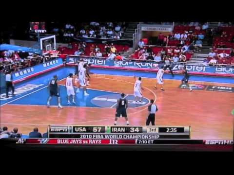 USA vs Iran FIBA world championship 2010 Travel Video