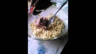 салат из ролтона