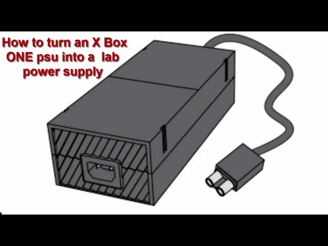Xbox One Bench Power Supply (How To Build a Cheap Lab PSU