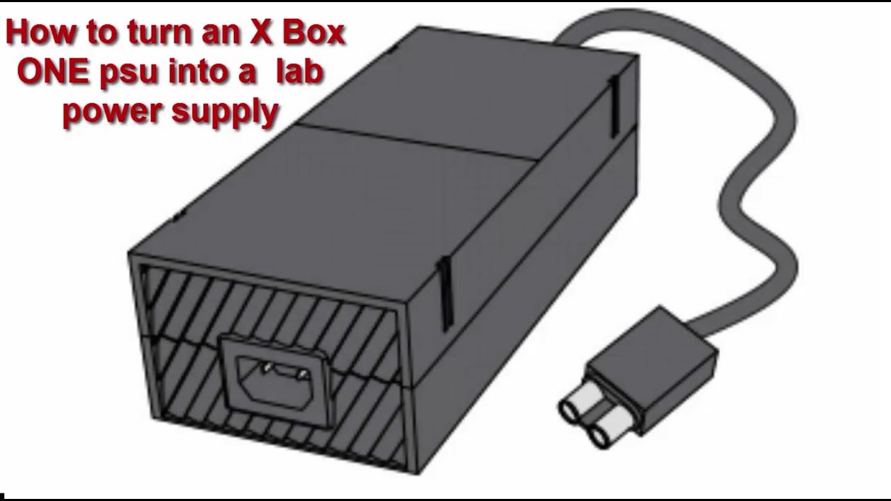Xbox One Bench Power Supply (How To Build a Cheap Lab PSU) Xbox Power Supply Schematic on