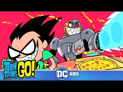 Teen Titans Go! | Food Fight | DC Kids