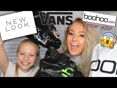 TURNING MY 10 YEAR OLD SISTER INTO ME... BUYING MY SISTERS OUTFIT😱😱