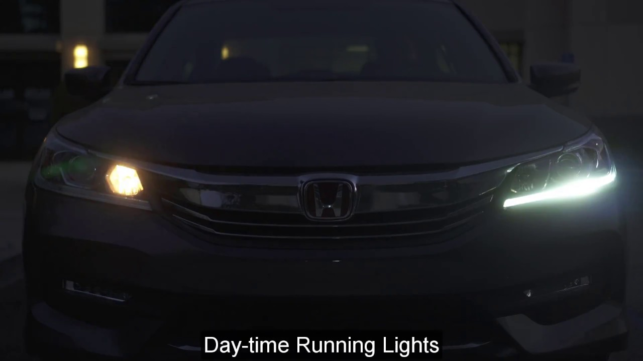 16-17 Honda Accord LED DRL Module Reference Guide