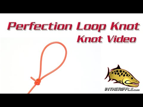 Perfection Loop Knot - Tying Video - Fly Fishing Knots