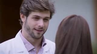 اول قبلة بين ايزابيل و سيرجيو - المسلسل المكسيكي أرض الحب