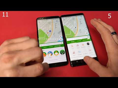 Galaxy Note 9 VS OnePlus 5t какой телефон быстрее/speed Test/