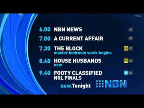 NBN Television | Lineup & Ident - (21.09.2015)