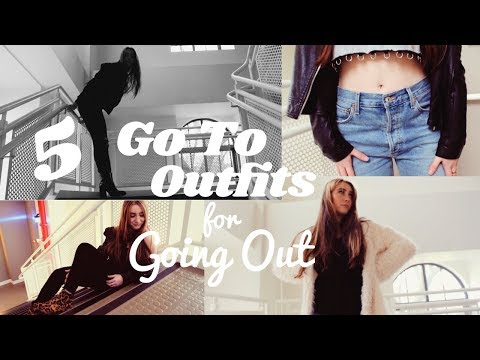5 GO TO OUTFITS FOR GOING OUT IN COLLEGE IN NYC: Winter Outfit Diary (Fordham University)