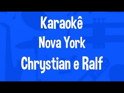Karaokê Nova York - Chrystian e Ralf