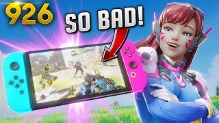 *NEW* OW IN SWITCH IS SO BAD!! | Overwatch Daily Moments Ep.926  (Funny and Random Moments)