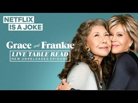 Grace And Frankie Live Table Read   Netflix Is A Joke