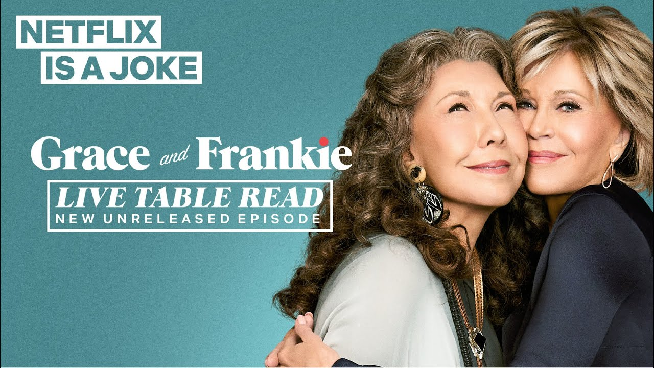 Download Grace and Frankie Live Table Read | Netflix Is A Joke