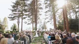 Celebrating a Wedding at Hyatt Regency Lake Tahoe