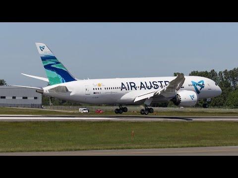 UU977 | Mayotte - Nairobi - Paris | Boeing 787-8 Air Austral