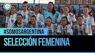 Entrevista al seleccionado femenino de fútbol en #SomosArgentina (1 de 2)