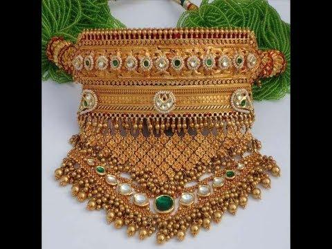 Rajputi Aad र जस थ न आड Desi Rajasthani Jewellery Designs Catalogue