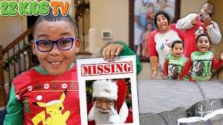 HELP! Santa Is Missing! ☃️🎅(Wait, Is That Reindeer In ZZ Kids Yard?)