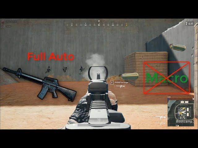 Hướng dẫn M16 Full Auto Mà Không Bị Delay (No Macro)