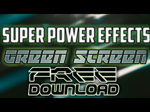 Super power fx all effects (GREEN) screen free download