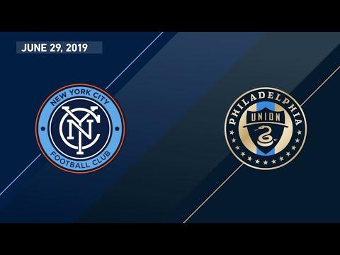 HIGHLIGHTS: New York City FC vs. Philadelphia Union | June 29, 2019