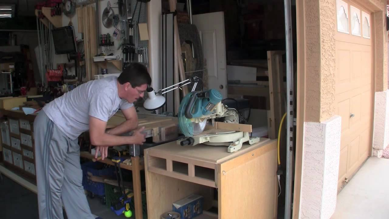 29 Disappearing Miter Saw Stand The Video Youtube