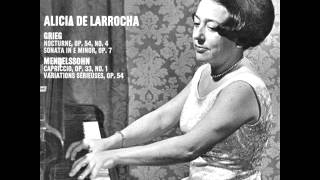 LARROCHA plays MENDELSSOHN Capriccio Op.33/1 (1970)