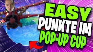 🏆💪 SO HOLST DU ZU 100% PUNKTE IM POP-UP CUP!! | Fortnite Battle Royale