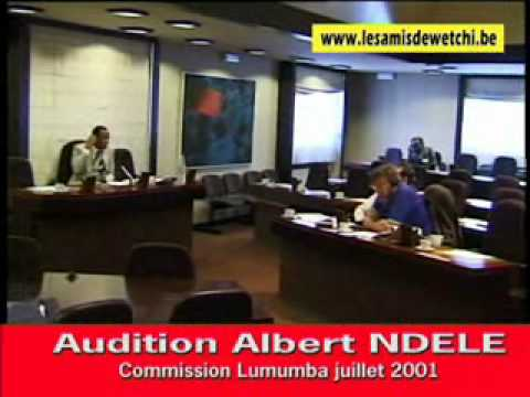 Commission Lumumba audition Albert NDELE.wmv