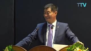 CTA President Dr. Lobsang Sangay talk at Parul University