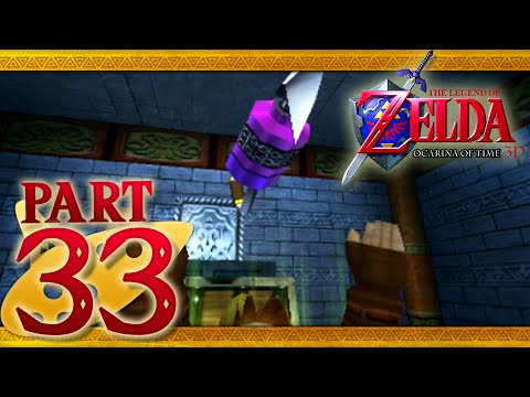The Legend of Zelda: Ocarina of Time 3D - Part 33 - Water Temple - Longshot
