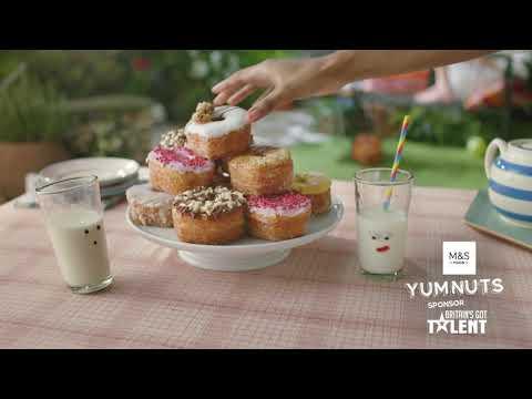 M&S Food & Britain's Got Talent Idents - Compilation 1