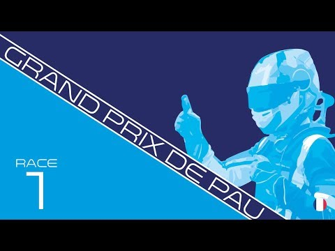 RE-LIVE: 1st race FIA Formula 3 at Pau