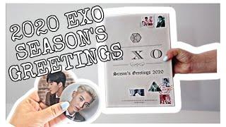 엑소  EXO 2020 Season's Greetings Unboxing | Philippines