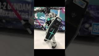 [Alexandros] 「閃光」好評配信中 オリジナル・ガンプラをスタッフが作ってみた HG 1/144 RX-78-2 GUNDAM Ver.[Alexandros] #shorts