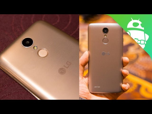 Lg K8 And Lg K10 Hands On Mid Range Moneymakers Android Authority