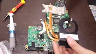 Замена термопасты и чистка ноутбука HP Pavilion dv6(Как заменить термопасту и почистить ноутбук ты узнаешь посмотрев это видео! А также как заменить монитор..., 2016-03-26T19:45:28.000Z)