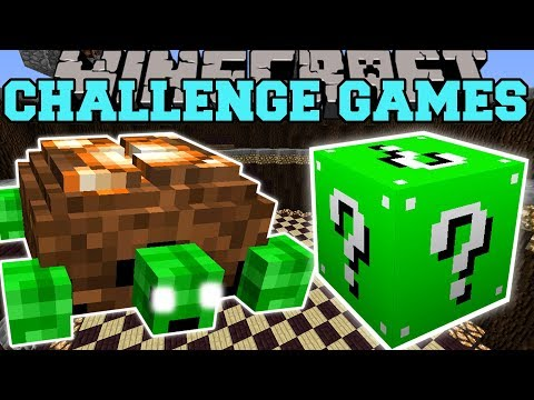 Minecraft: TURTLE BOSS CHALLENGE GAMES - Lucky Block Mod - Modded Mini-Game thumbnail