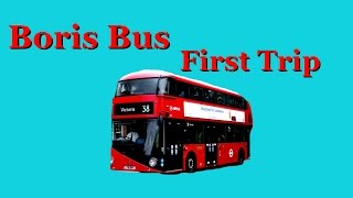 Boris Bus: New London Routemaster, First Official Arrival at Victoria