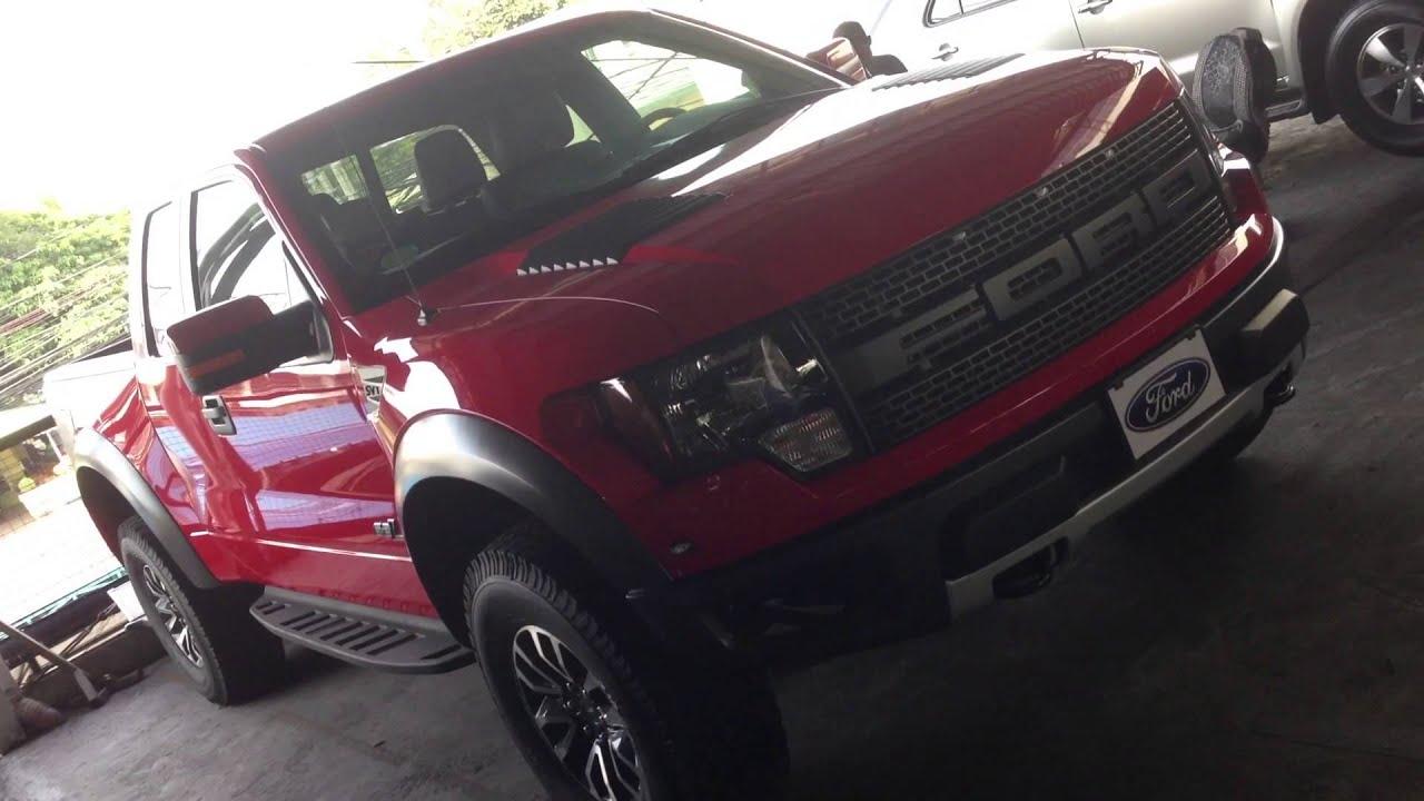 New 2013 F 150 Svt Raptor 62l V8 2 Door For Sale Php 42 Million By Manila Luxury Cars