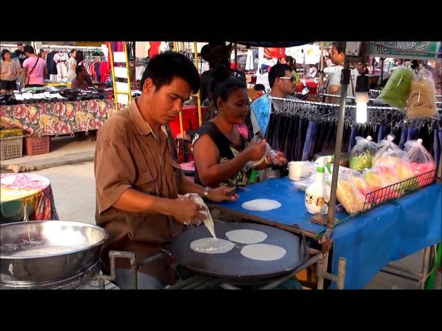 Koh Samui Street Food: Food Market Chaweng, Samui